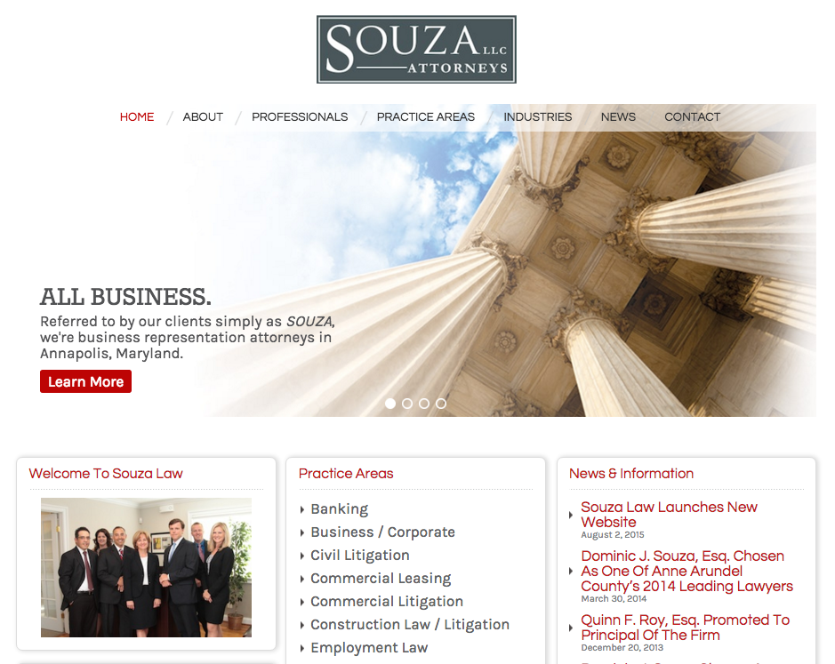 souza law website