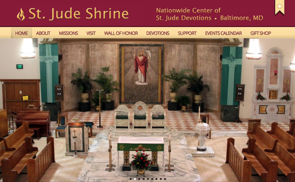 st jude shrine baltimore website